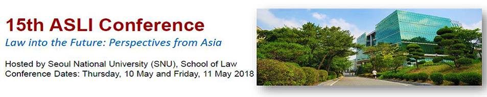 Asian law institute conference