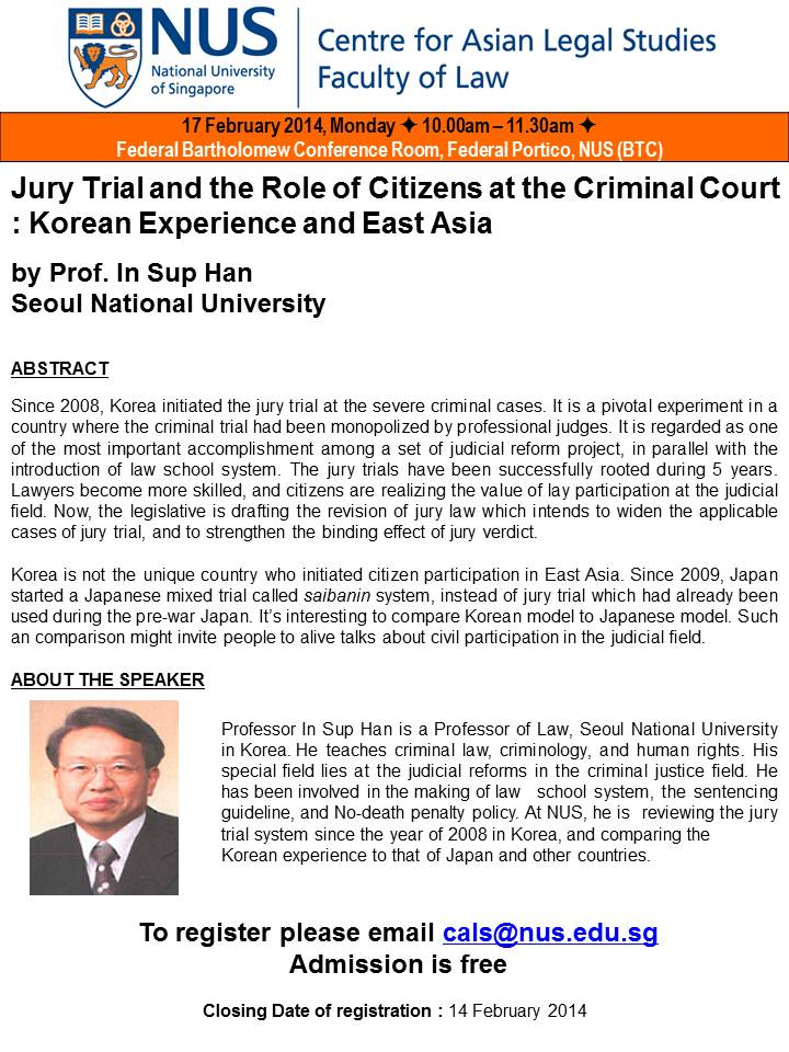 criminal trial and participants